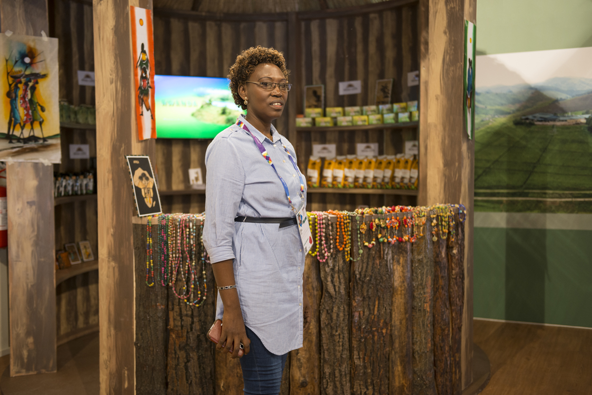 BETTY // International Coffee Marketing officer // Kigali