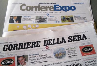 Corriere Expo 25 maggio 2015