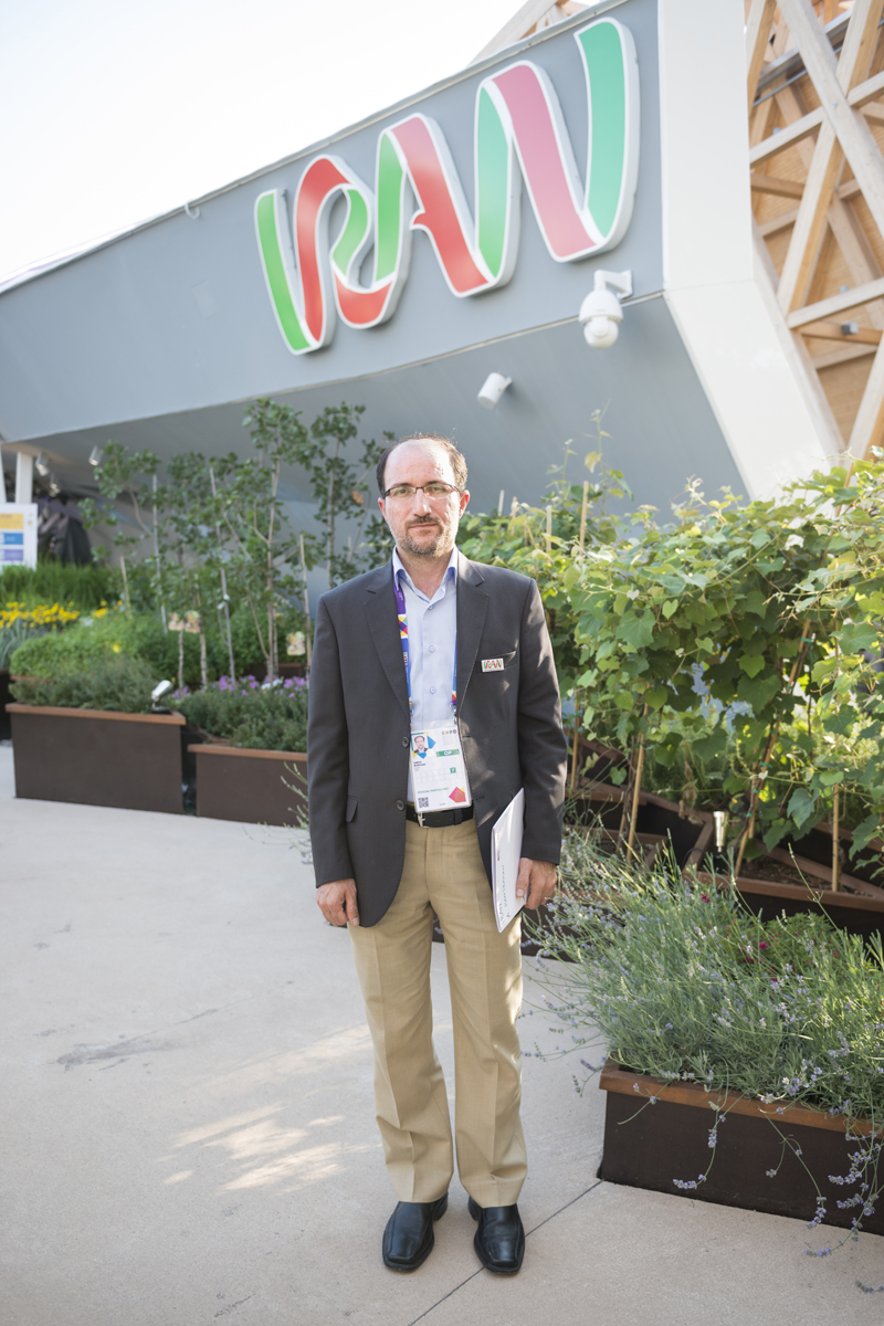 ABBAS // direttore programmazione fiere internazionali // Teheran