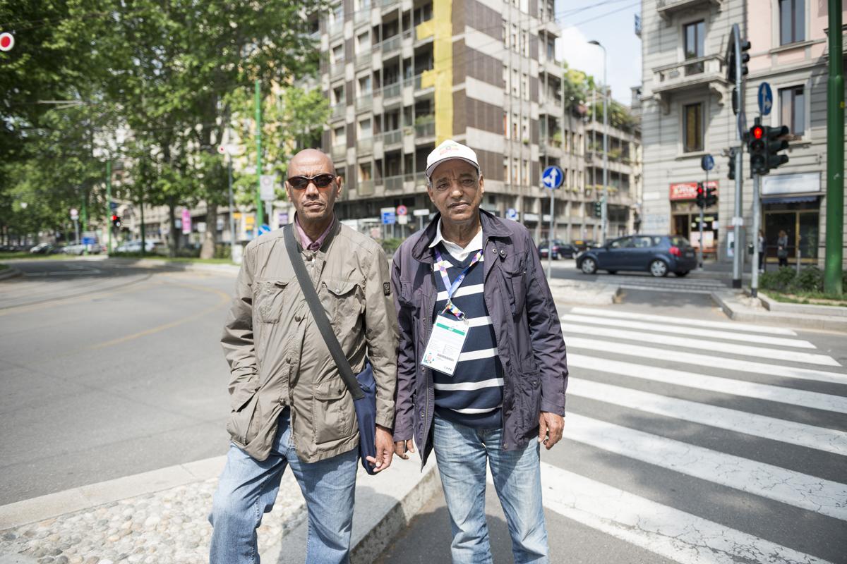 BERHANE, GHEBREYESUS // commerciante e imprenditore // Milano