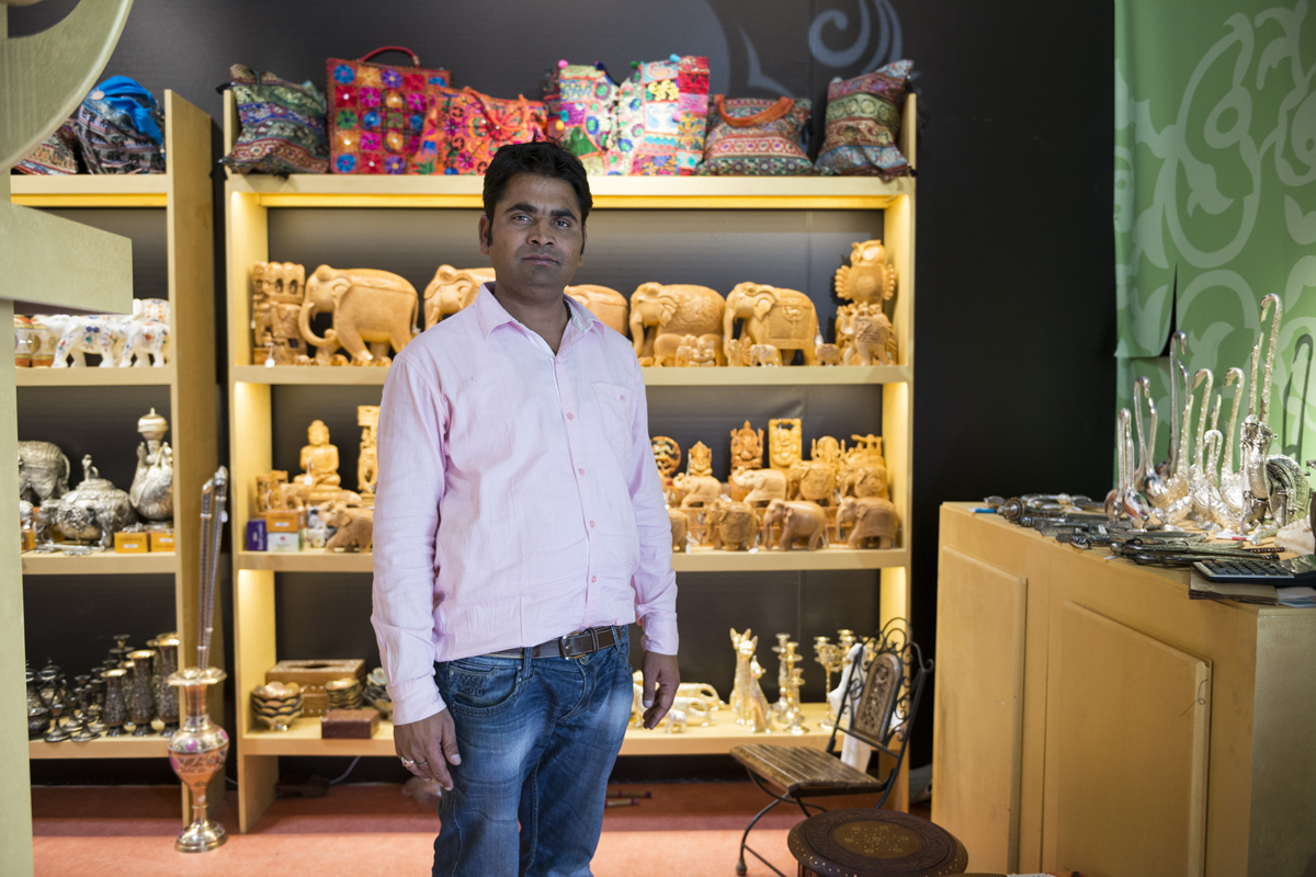 RAVI // commerciante // Khajuraho