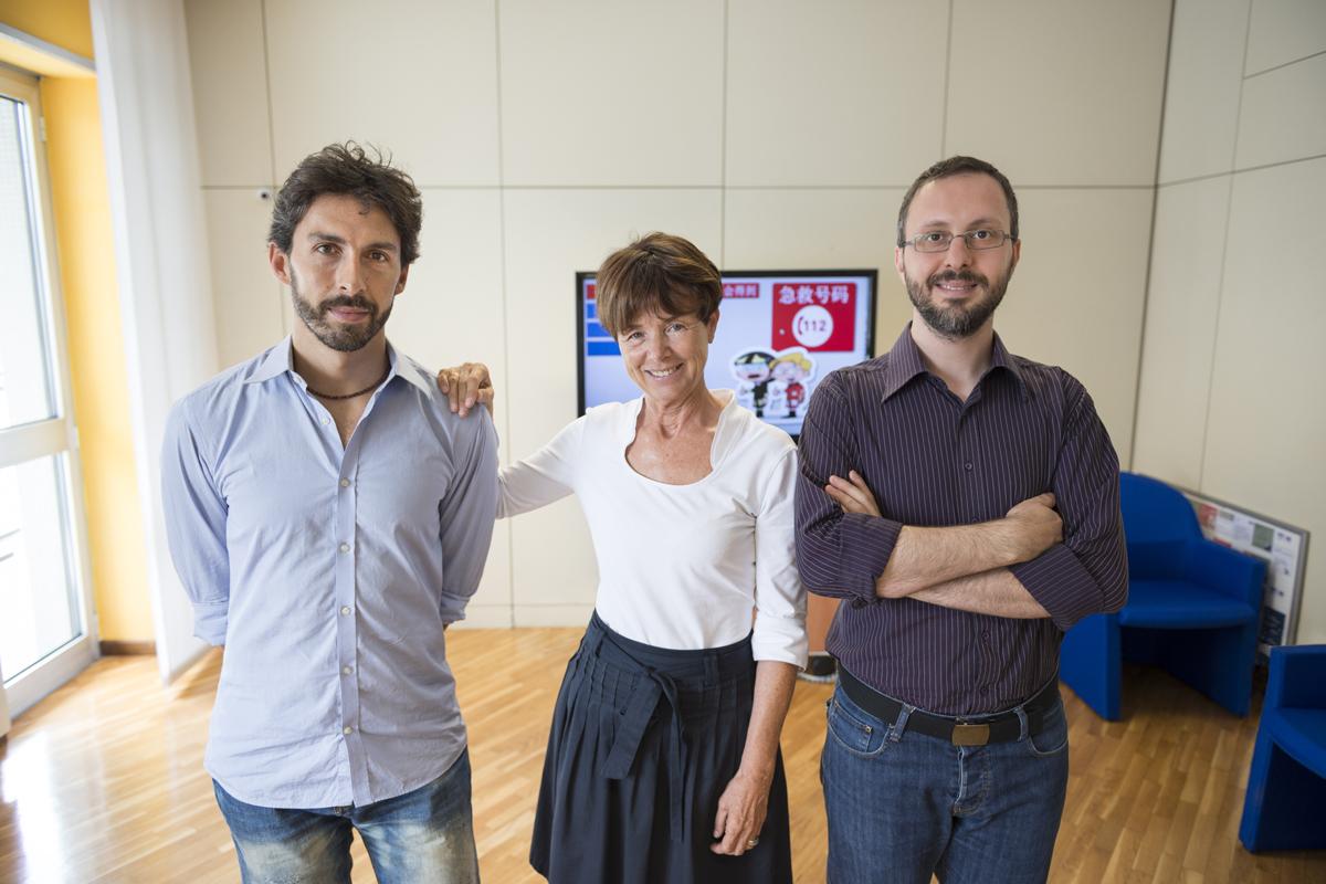 GABRIELE, CRISTINA, LINO // grafico, responsabile comunicazione AREU, giornalista // Milano