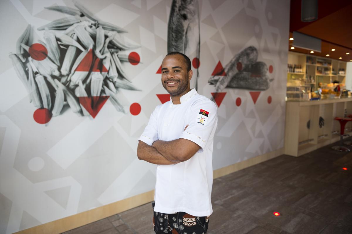 LUIS // chef // Benguela