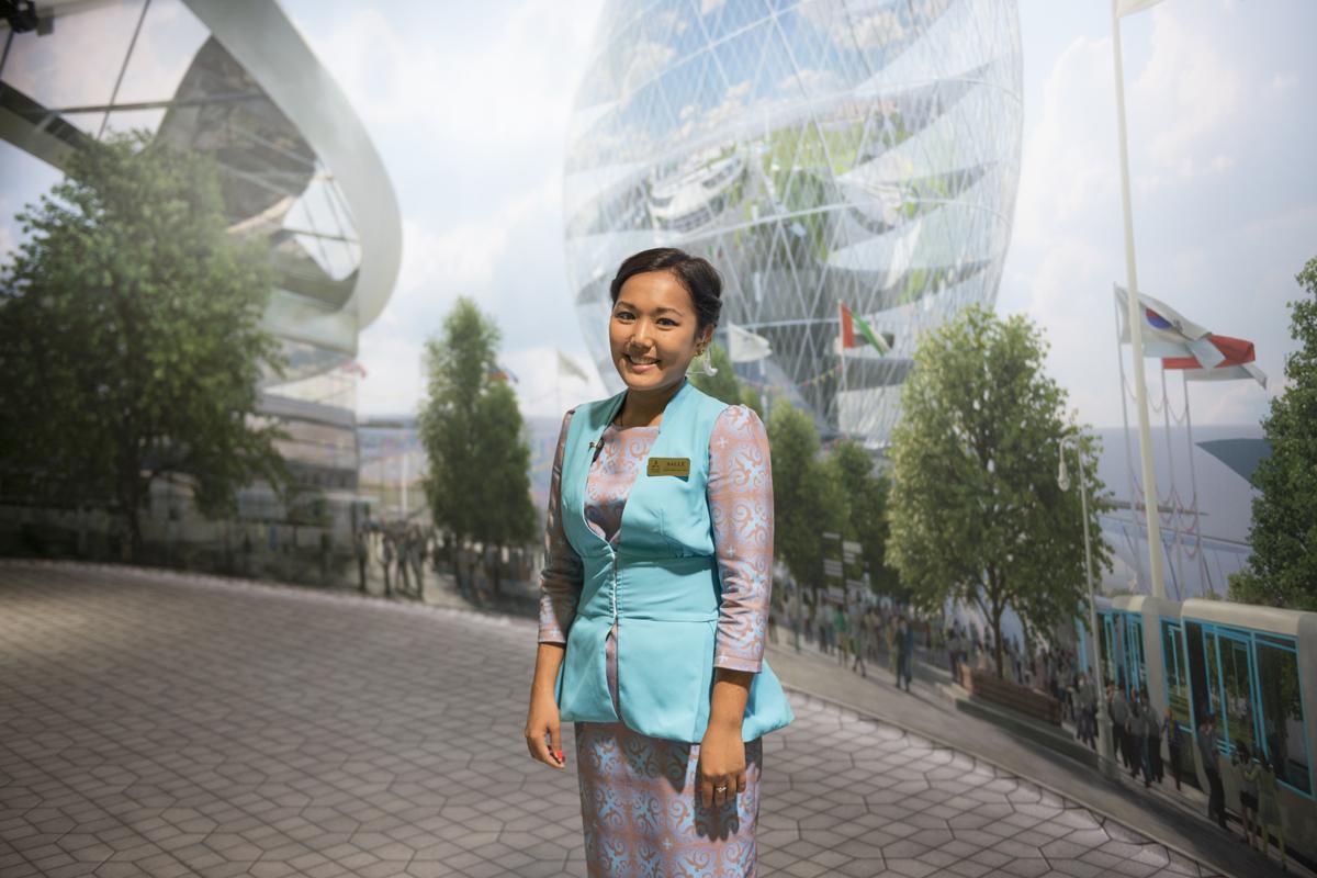 SAULE // laureata relazioni internazionali // Astana
