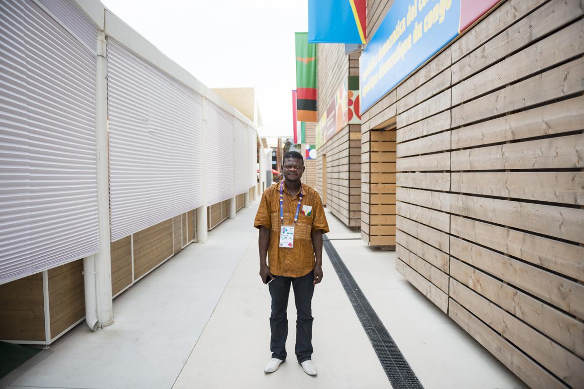 JEAN // direttore del Padiglione // Kinshasa